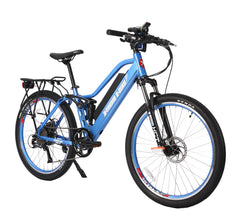 [OPEN BOX] X-Treme Sedona Electric Step-Through Mountain Bicycle 500w 48v