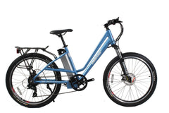 Trail Climber Elite Electric Step-Through Mountain Bicycle 36Volt Lithium Powered X-Treme