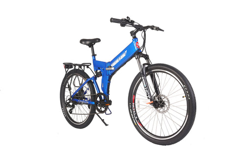 X-Cursion Elite Folding Mountain Electric Bicycle  24 Volt Lithium Powered X-Treme