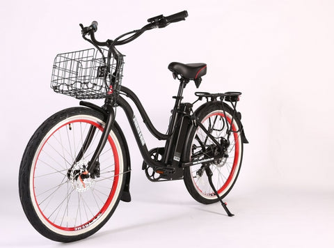 Malibu Elite Max 36 Volt Step-Through Electric Beach Cruiser Bicycle - Powered by X-Treme