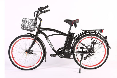 Newport Elite Max 36 Volt Electric Beach Cruiser Bicycle X-Treme 36NEWPORT-EM