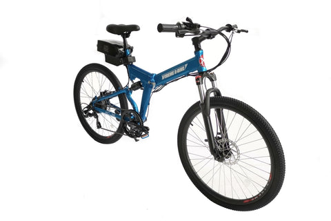 X-Treme XC-36 Electric 36 Volt Folding Mountain Bike 7 Speed