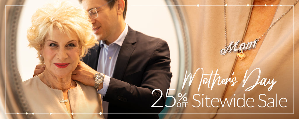 mother's day 25%off sitewide sale