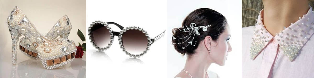 accessories with pearls