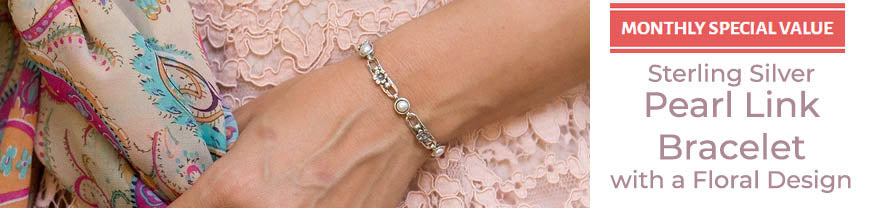 danny newfeld collection pearl link bracelet