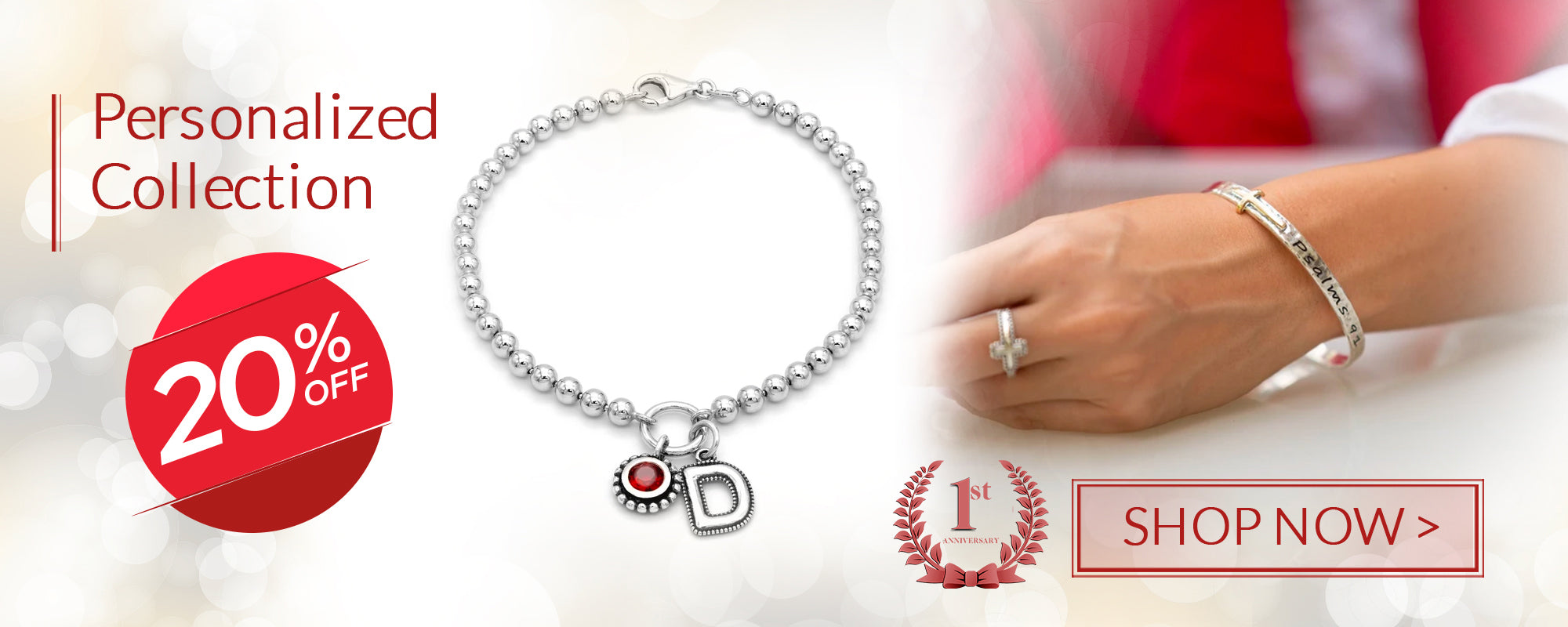 20% off personalized collection