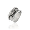 Engravable Beaded Band Ring Sterling Silver - dannynewfeld