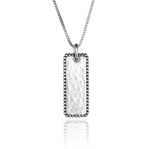 Vertical Personalized Bar Necklace - dannynewfeld