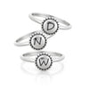 Engravable Stacking Rings Sterling Silver - dannynewfeld