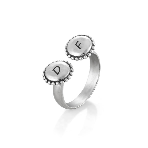 Engravable Open Ring Sterling Silver - Danny Newfeld Collection