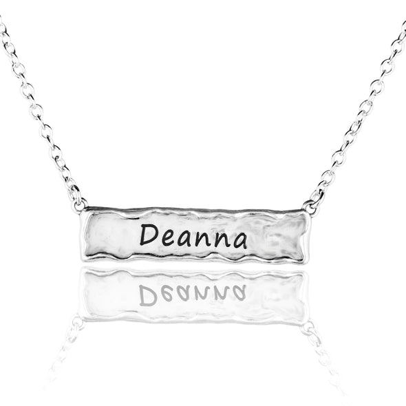 Personalized Bar Necklace - Danny Newfeld Collection