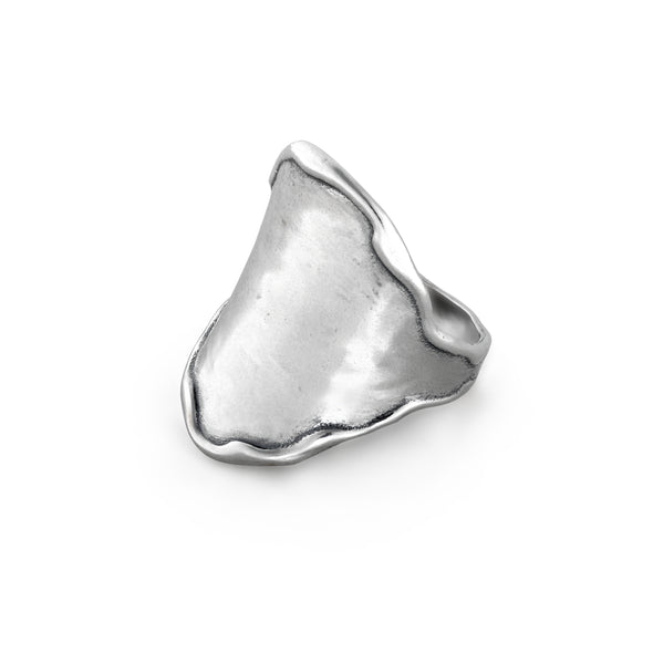 Engravable Saddle Ring Sterling Silver - Danny Newfeld Collection