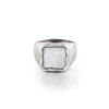 Engravable Square Signet Ring - Danny Newfeld Collection