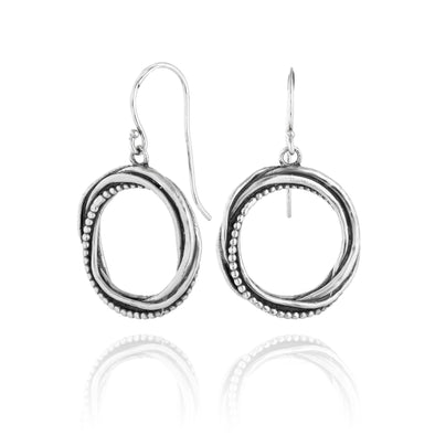 Hoop Earrings Sterling Silver - dannynewfeld