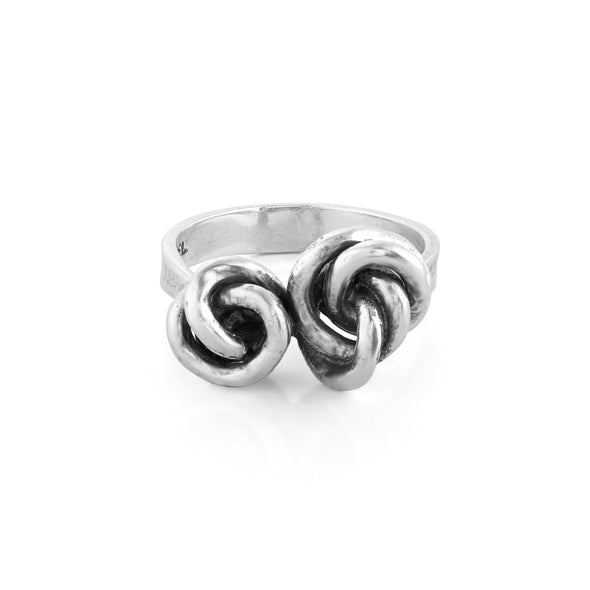 Love Knot Ring Sterling Silver - Danny Newfeld Collection