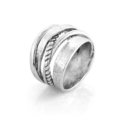 Highway Ring Sterling Silver - Danny Newfeld Collection