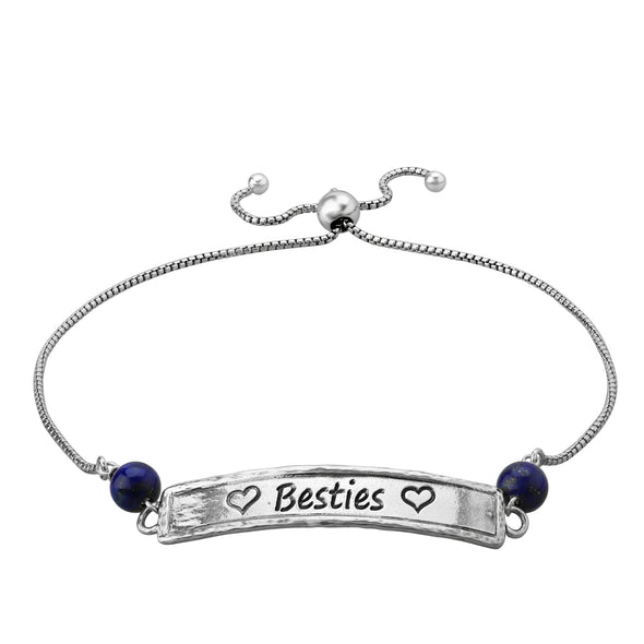 Engravable Friendship Bracelet Sterling Silver - Danny Newfeld Collection
