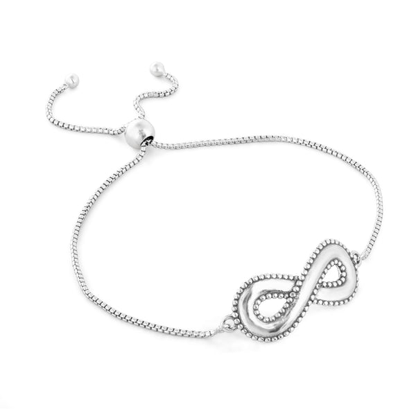Infinity Bracelet Sterling Silver - Danny Newfeld Collection