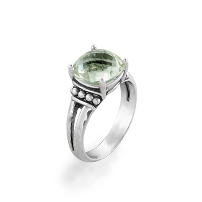 Gemstone Solitare Ring Sterling Silver - Danny Newfeld Collection