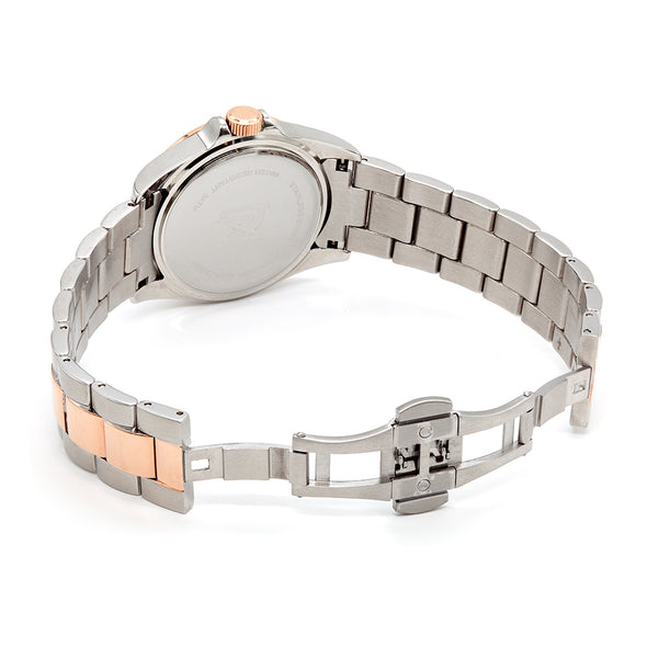 Quartz Movement Two-Tone Watch
