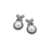 Butterflies and Pearls Stud Earrings Sterling Silver - dannynewfeld