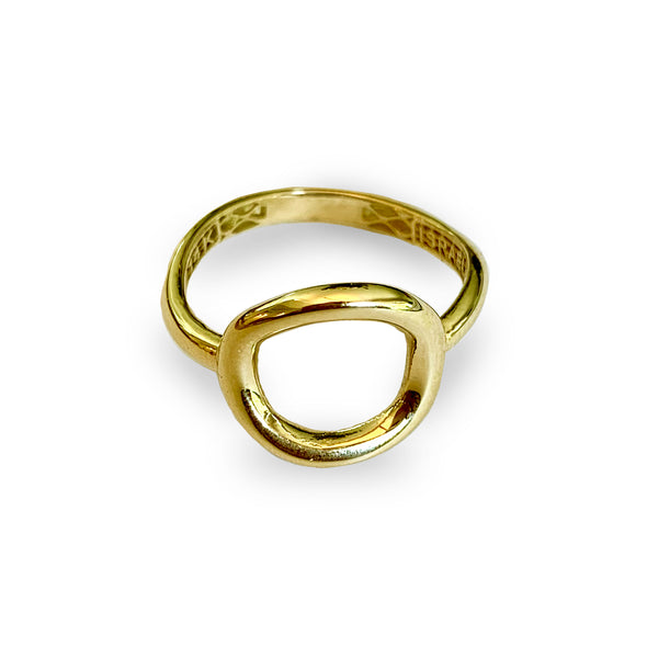 14K Gold Karma Ring - Danny Newfeld Collection