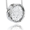 Personalized Round Pendant Necklace Sterling Silver - Danny Newfeld Collection