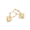 Heart Charm Hoop Earrings - dannynewfeld
