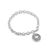 Love, Faith & Hope Charm Bracelet Sterling Silver - dannynewfeld