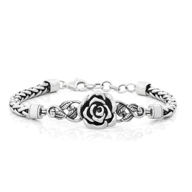 Rose Spiga Bracelet Sterling Silver - Danny Newfeld Collection