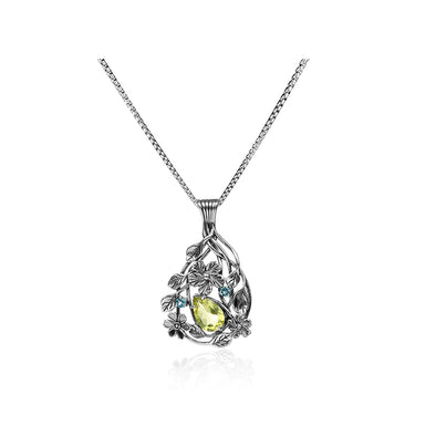 Gemstone Pendant Sterling Silver - Danny Newfeld Collection