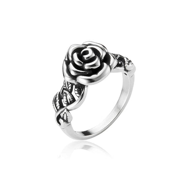 Rose Ring Sterling Silver - dannynewfeld