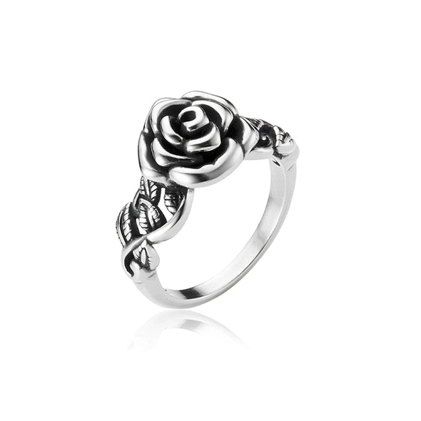 Rose Ring Sterling Silver - Danny Newfeld Collection