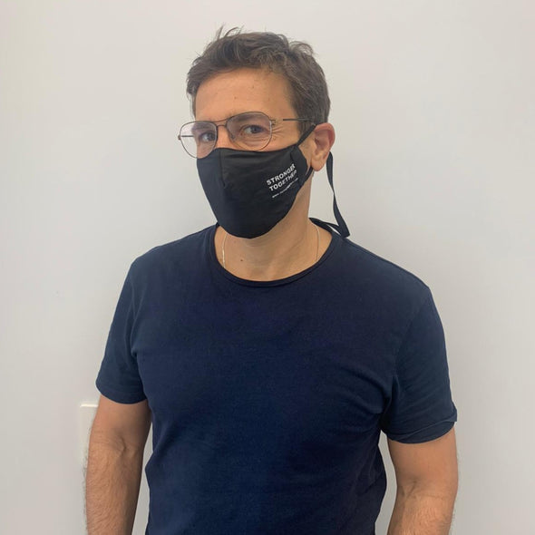 Stronger Together Fabric Face Mask Adult Unisex Reusable - Buy 5 Get one Free! - dannynewfeld