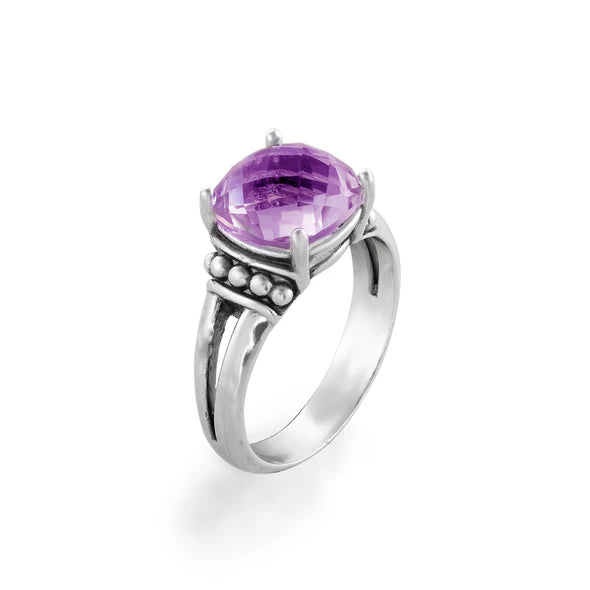 Gemstone Solitare Ring Sterling Silver - dannynewfeld