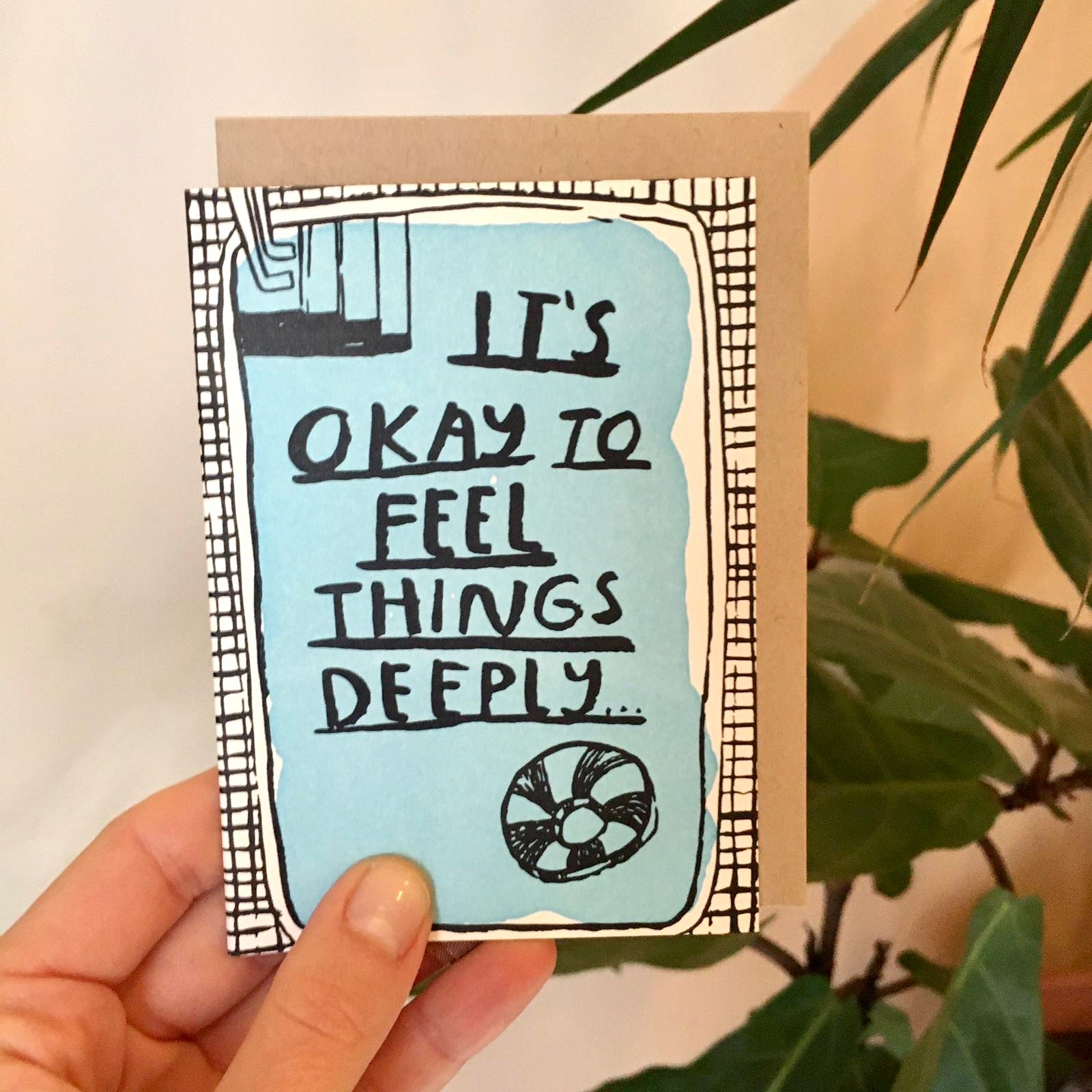 People I've Loved - Feel Things Deeply Card