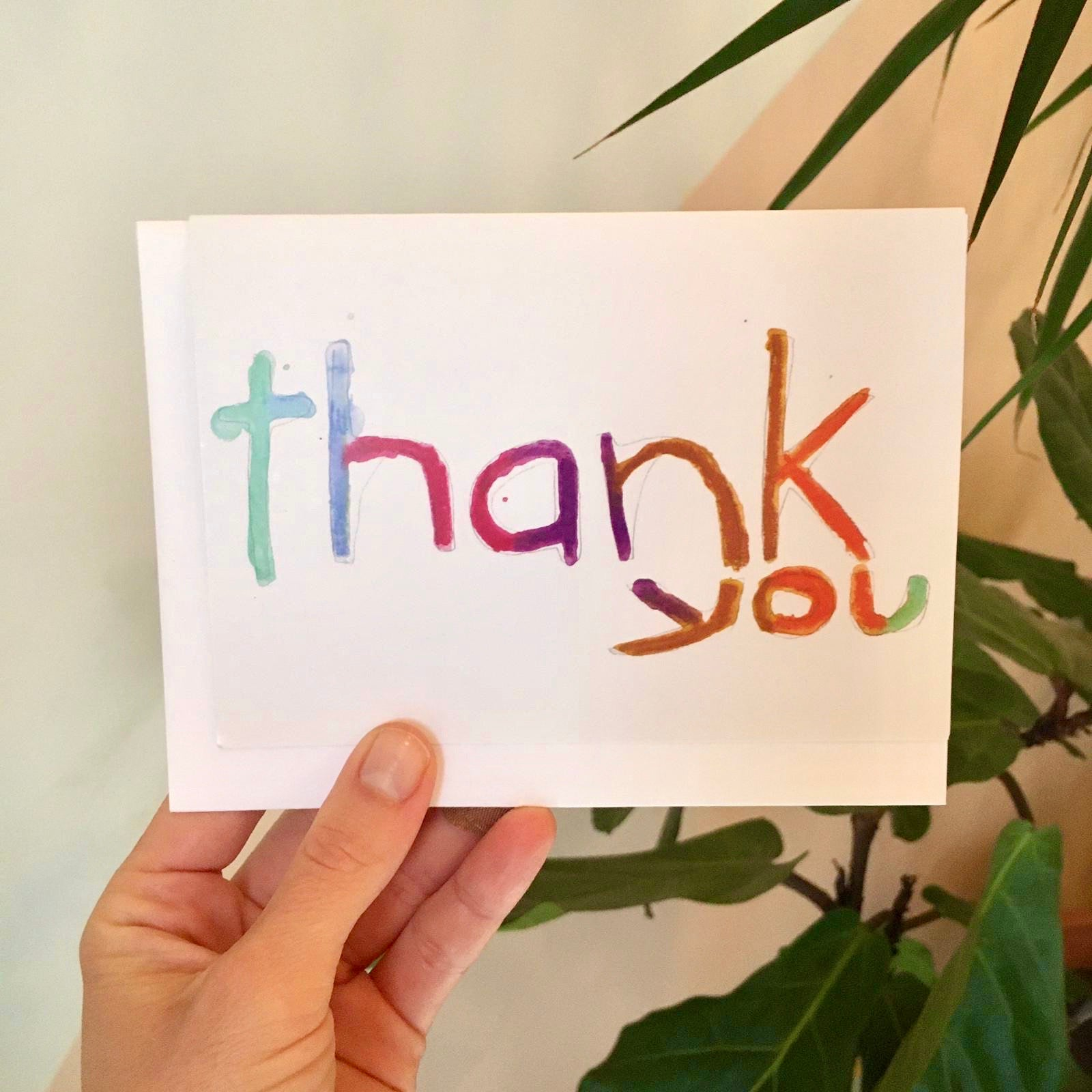 Lisa Levine - Thank You Card