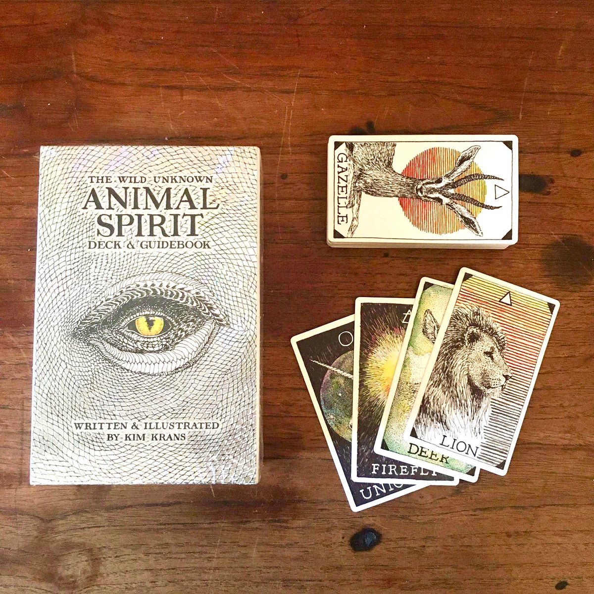 Wild Unknown Animal Spirit Deck & Guidebook