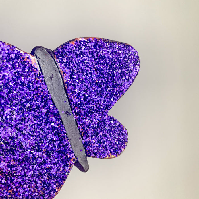 Sparkly Ceramic Butterfly by Lisa Levine