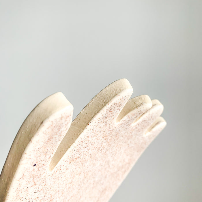 Ceramic Hand by Lisa Levine