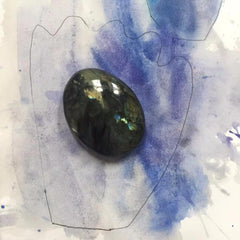Labradorite Palms - SOLD OUT