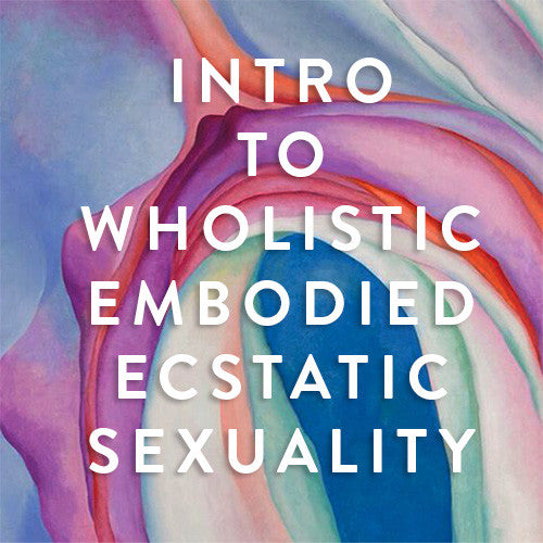 Saturday, June 24th -- Intro to Wholistic Embodied Ecstatic Sexuality