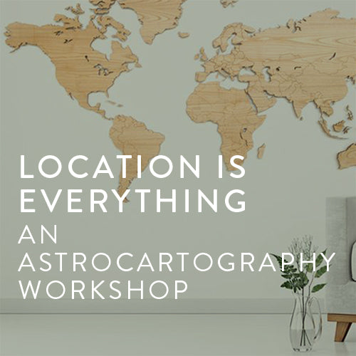 Thursday, September 5th-- Location is Everything: Astrocartography