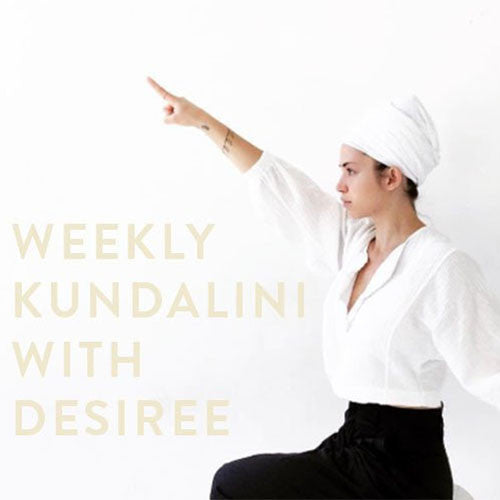 Thursday, June 1st- Weekly Kundalini with Desiree