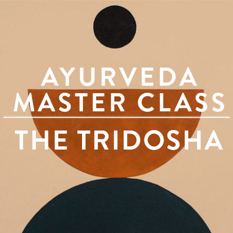 Tuesday, December 12th -- Ayurveda Master Class : The TRIDOSHA