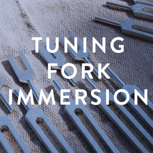 Saturday, June 3rd -- Tuning Fork Immersion