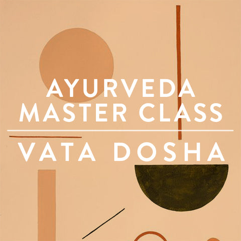 Tuesday, November 14th -- Ayurveda Master Class : VATA DOSHA