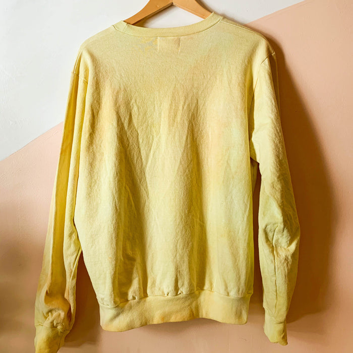 Tie-dye Crewneck Sweatshirt - Sunshine Colorway