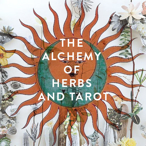 Sunday, May 21st-- The Alchemy of Herbs & Tarot