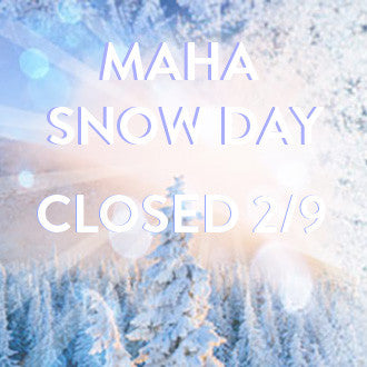 Winter Weather Status-- WE ARE CLOSED Thursday 2/9